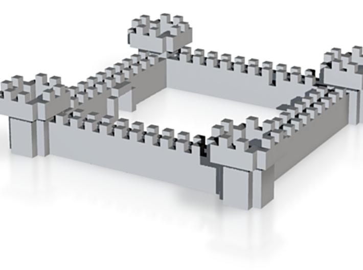 Minecraft Castle 3d printed