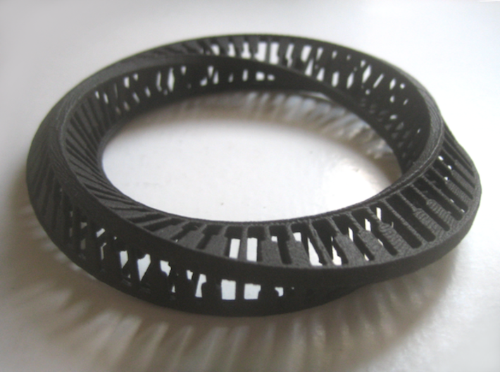Piano Triangle Cross-Section Mobius 3d printed