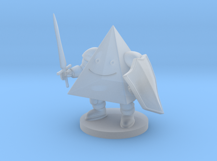 D4 Knight 3d printed