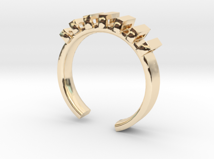 Lord Shackle Ring - Sz. 8 3d printed