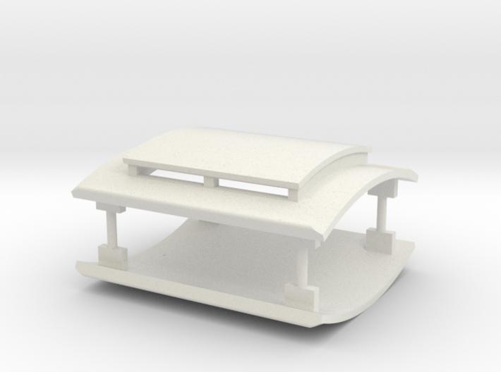 LBSCR (I 3) Roof Set 3d printed