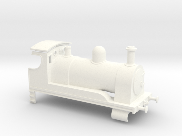 0-4-0 Tender Engine 3d printed