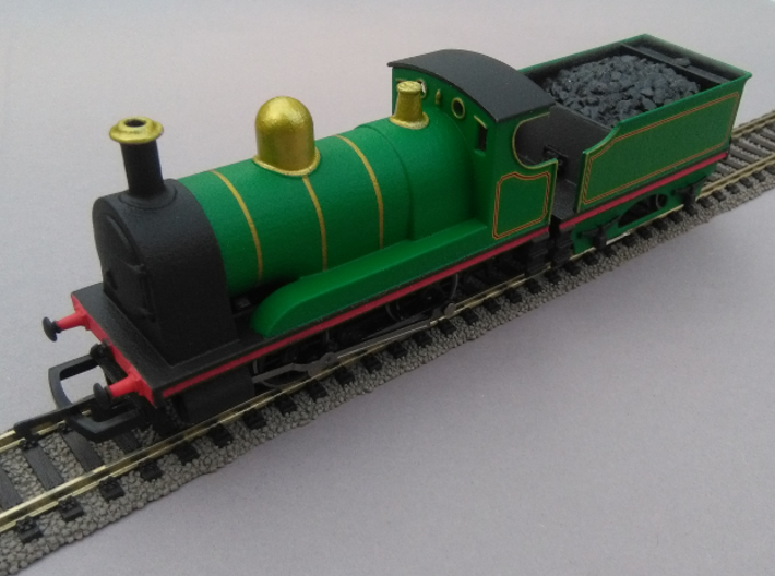 0-4-0 Tender Engine 3d printed Tender and chassis not included.