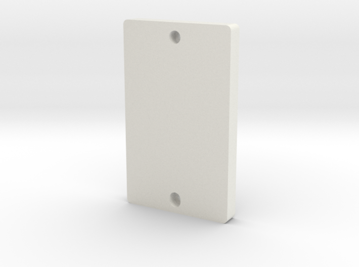 Philips Hue Dimmer Switch Blank Plate (US Decora) 3d printed