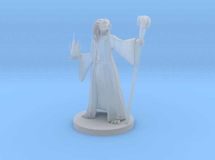 Dragonborn Female Sorcerer 2 3d printed