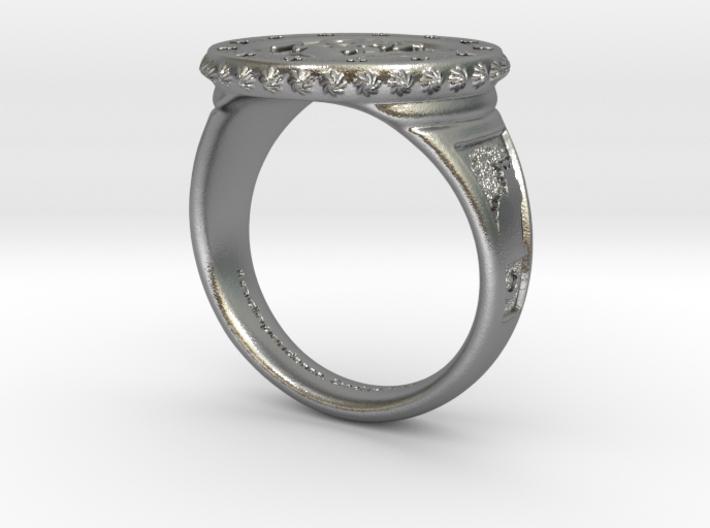 Chat Noir Ring 3d printed