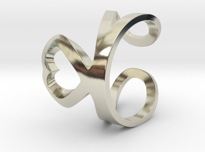 Loving ring 3d printed