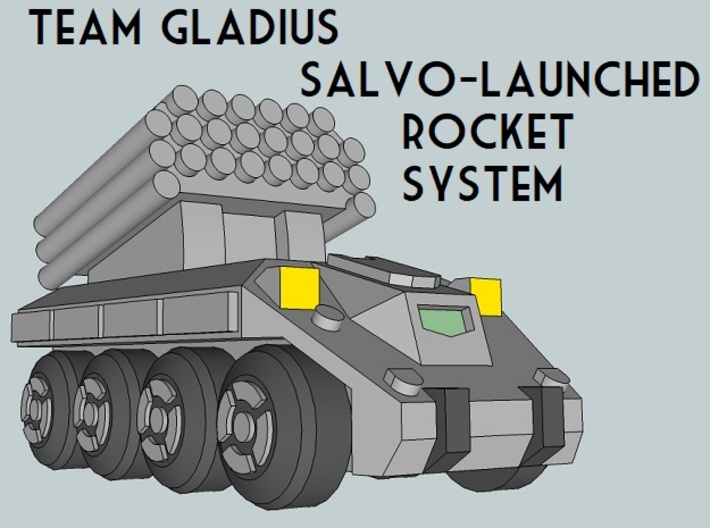 """Team Gladius"" 3mm Wheeled Sampler (9pcs) 3d printed"