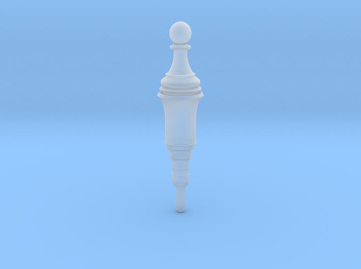Resident Evil 2 Remake Pawn Plug chess 3d printed