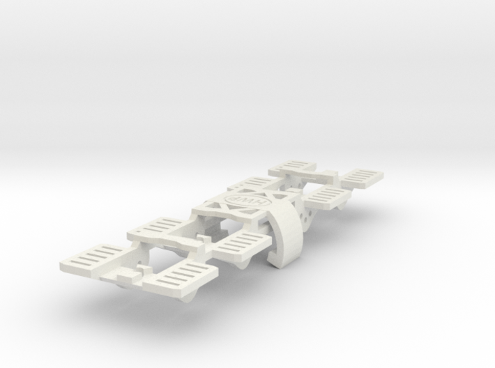 SL2 Chassis Replacement Front Ends 4-Pack 3d printed