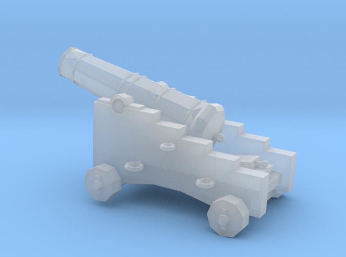 1/87 Scale 9 Pounder Naval Gun 3d printed