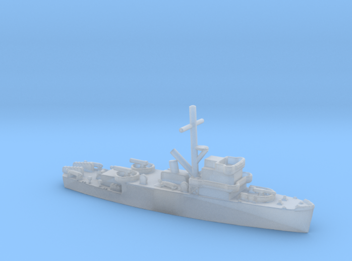 1/1800 Scale WW2 USN MSO 3d printed