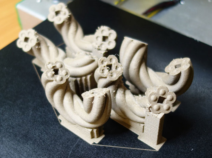 FourKnot 3d printed