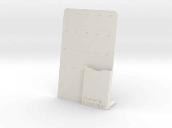 Shapeways Material Sample Stand and Card Holder 3d printed