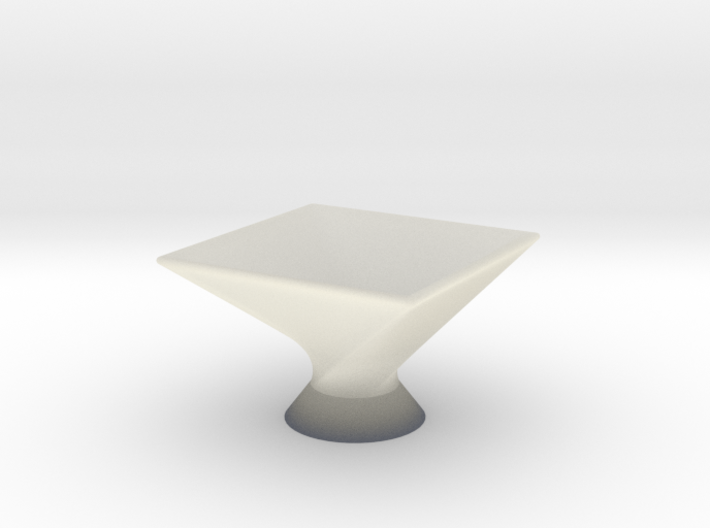 Twist Bowl 3d printed