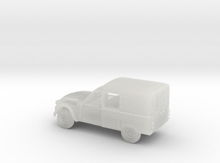 2-CV furgoneta escala N 3d printed