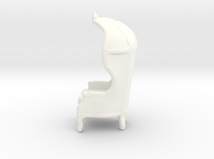 "Armchair Roof 1/4"" Scaled 3d printed"