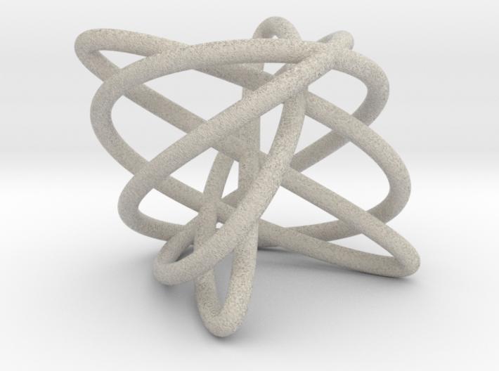 Large Major Triad, sandstone 3d printed