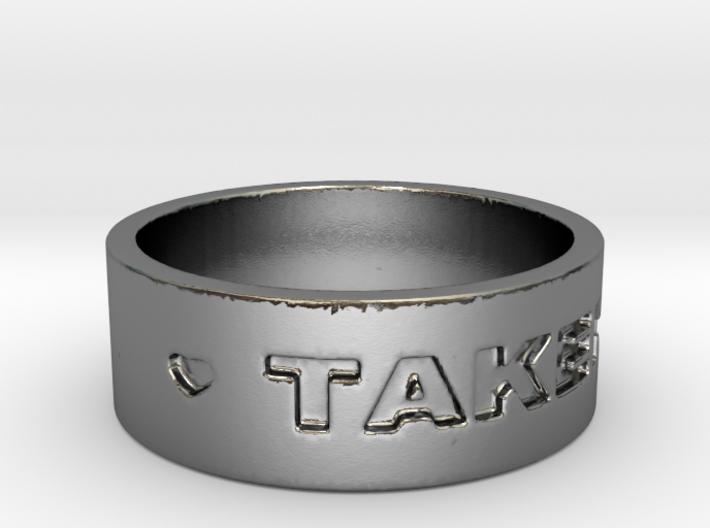 TAKEN Ring Size 7 3d printed