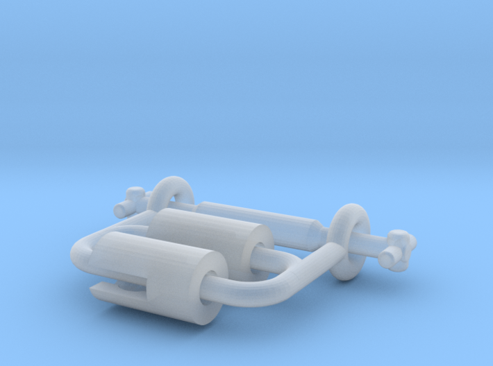 Dapol N Britannia Driveshaft Repair Kit 3d printed
