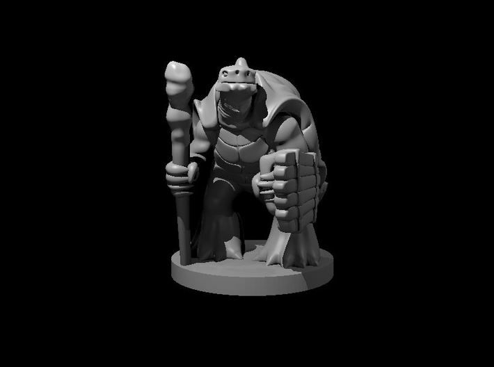 Tortle Druid 3d printed