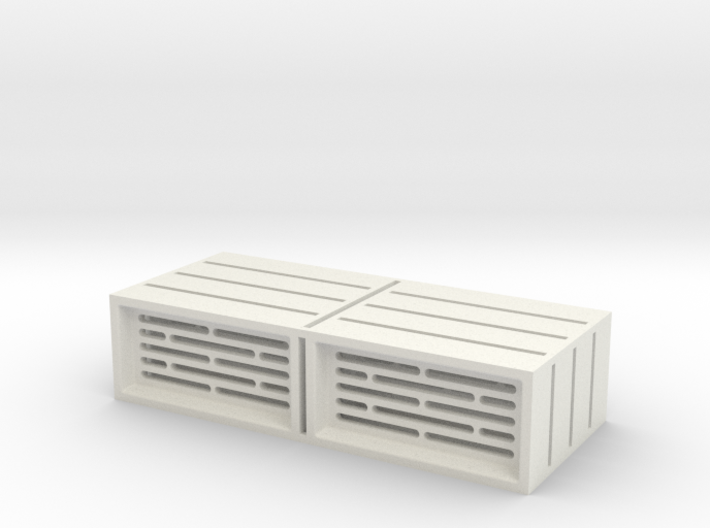 6mm Scale Geometric Pattern Wall / Barrier Tiles 3d printed