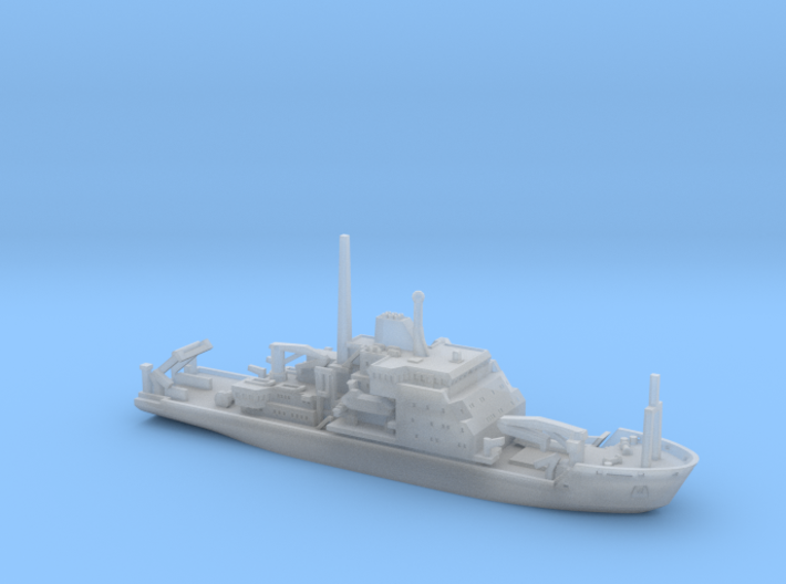RRS James Clark Ross (1:1200) 3d printed 1:1200 scale model of the RRS James Clark Ross