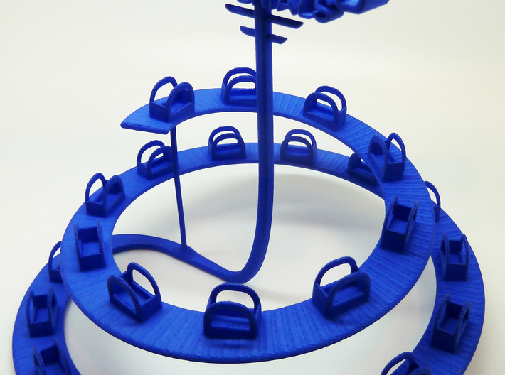 The Helix - Material Sample Stand 3d printed