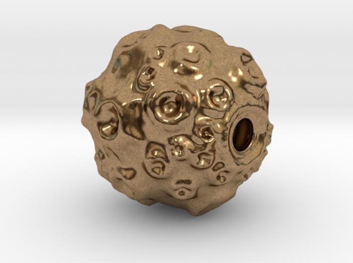 Pendant 01 - hollow dwarf planet 3d printed