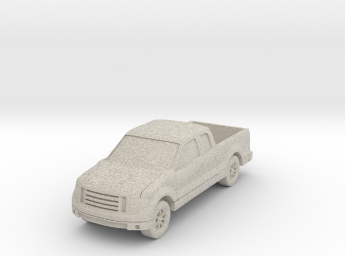 """Truck at 1""""=8' Scale 3d printed"""
