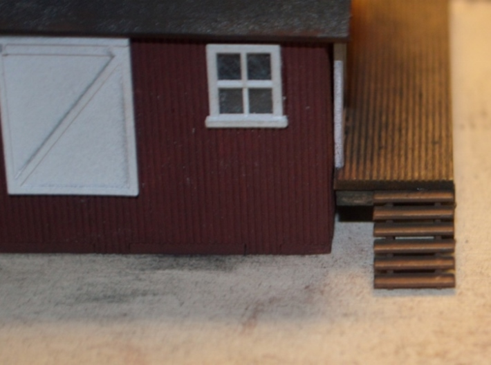 N-Scale 60-Inch Steps - 3 Pack 3d printed Painted Production Sample #1