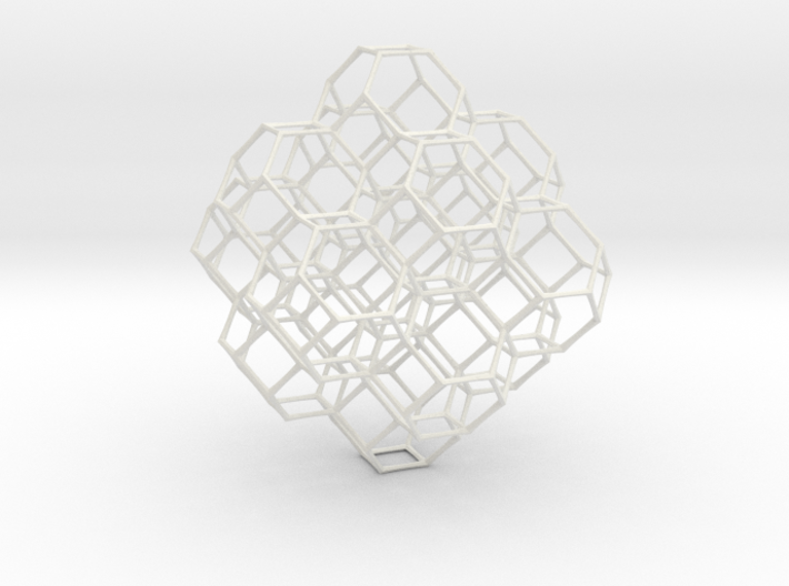 Truncated octahedral lattice 3d printed