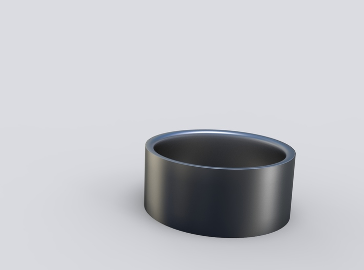 Classic 1cm Ring 3d printed