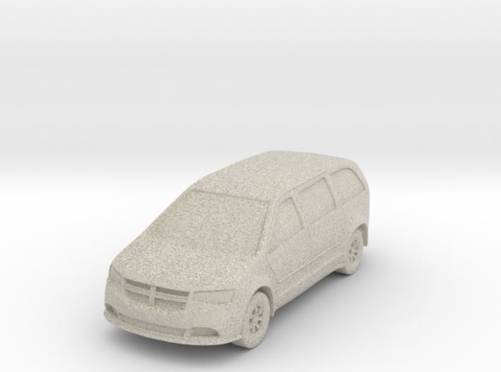 "Minivan at 1""=10' Scale 3d printed"