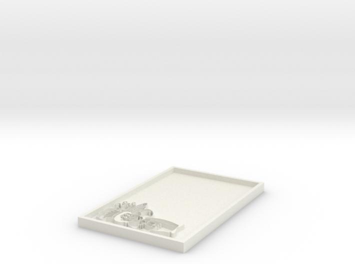 Name Tag Blank 3d printed