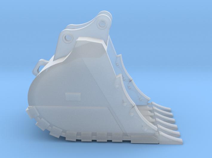 "1:50 48"" SD Bucket for 20 Ton excavators V2 3d printed"