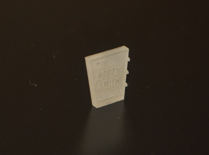 N-Scale Building Sign (In Revision) 3d printed Pre-Production Sample