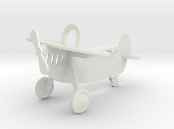 Miniature 1:12 Dollhouse Airplane 3d printed