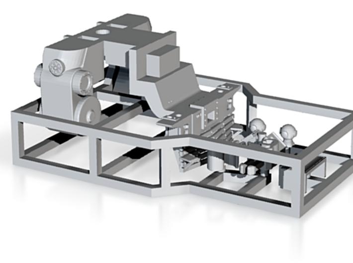 N Scale Slat Pilot Kit for Trix K4 3d printed