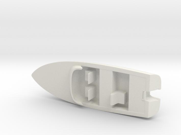 Printle Thing Speed Boat w/o Motor - 1/24 3d printed