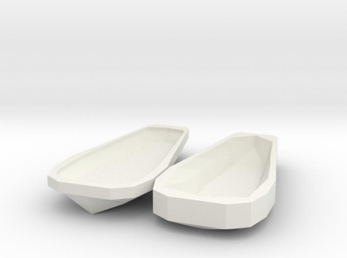 Miniature Open Sarcophagus 3d printed