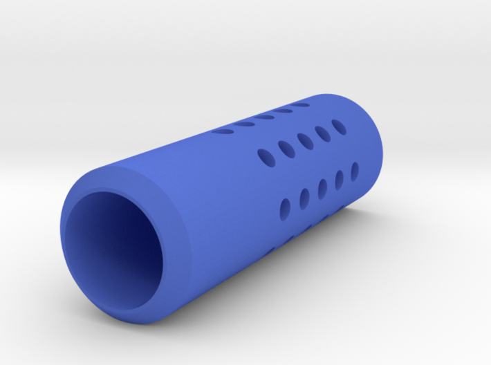 HMP Type II Muzzle (150mm) for Nerf Modulus 3d printed