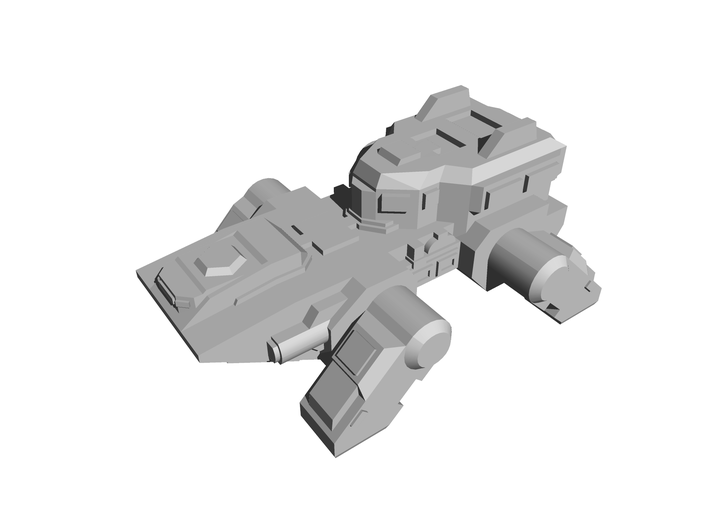 """""""Pangolin"""" Armored Carrier 6mm 3d printed"""