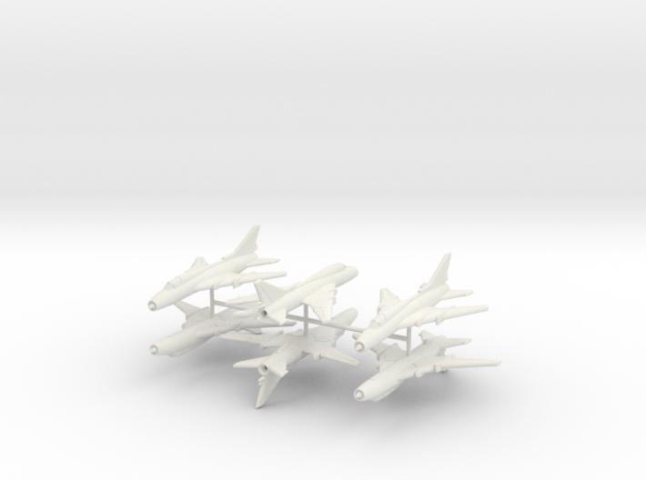 1/350 Sukhoi Su-22 (x6) 3d printed