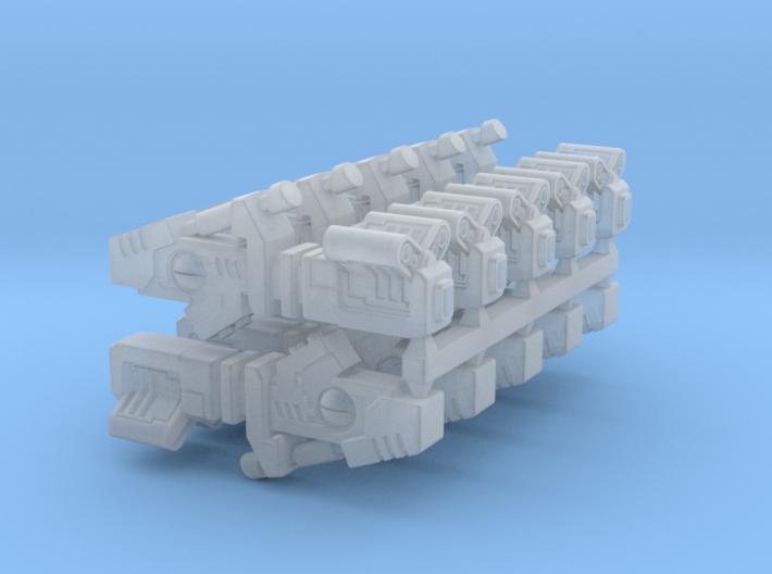Greater Good Cyclic ion Blaster x4 / x6 / x8 / x10 3d printed