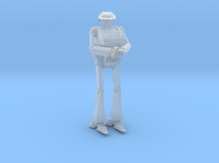 Star Wars T-Series Tactical Droid Legion Scale 3d printed