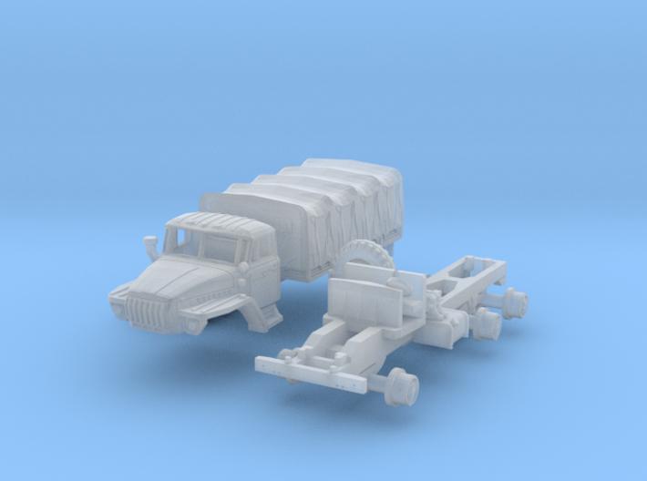 Ural-4320 (N 1:160) 3d printed