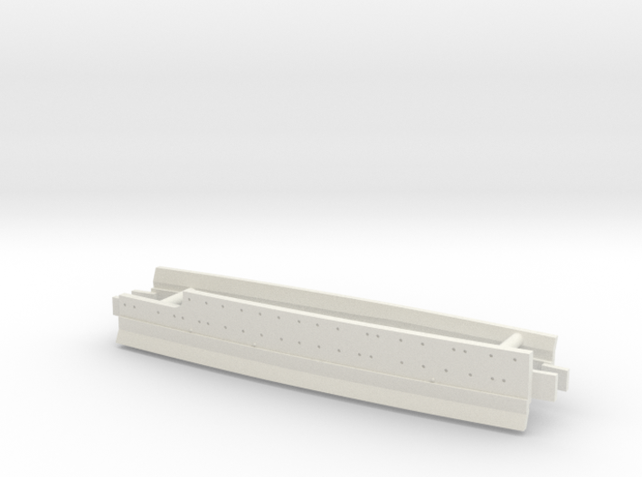 1/600 Nevada Class (1941) Midships Waterline 3d printed