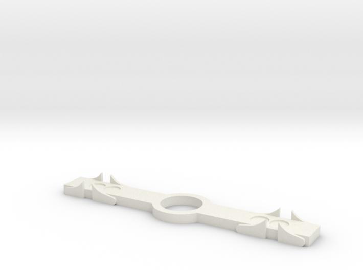 SR&RL Archbar spring-plank-45mm 1:20 3d printed