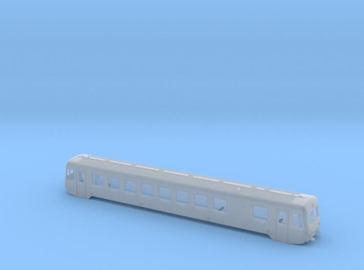 BR 627.1 Spur TT 1:120 3d printed